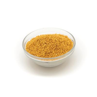 Cristalli di zucchero oro Di Gel
