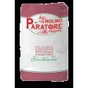 """Sacco da 25 Kg farina integrale di grano duro siciliano """"scuro"""" con crusca a foglia larga Molino Paratore"""