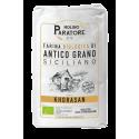 """Sacco da 5-25 Kg farina di antico grano siciliano """"Khorasan"""" bio Molino Paratore"""