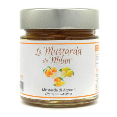 Mostarda di agrumi Romeo Canditori